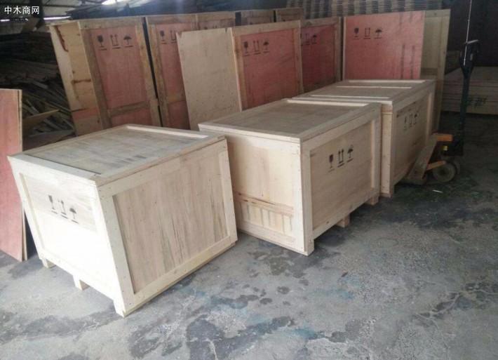 宜昌木质包装箱生产厂家批发价格高清图