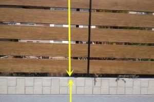 日本的院子喜欢做木围栏,底座要砌40公分矮墙,这样才好看耐用