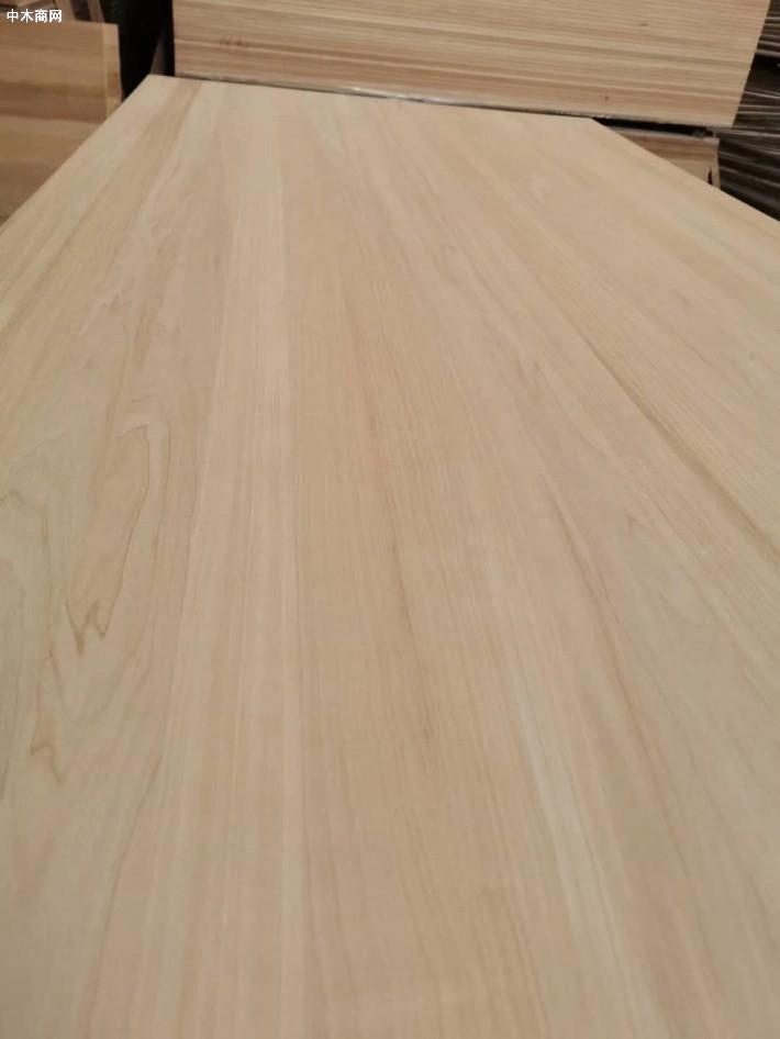 炭化白杨木直拼板材图片价格品牌