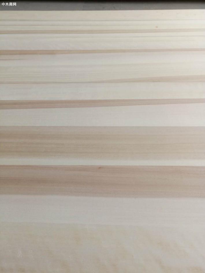 炭化白杨木直拼板材今日最新报价图片