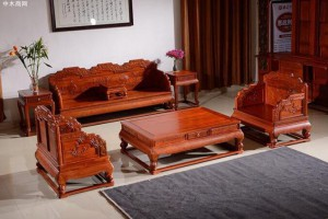 花梨木沙发六件套价格大概是多少钱?