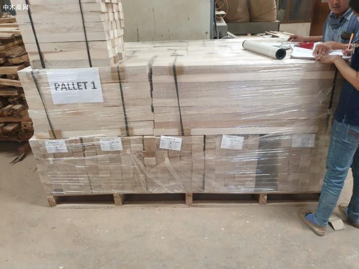 印尼轻木方木balsa wool原产地直销