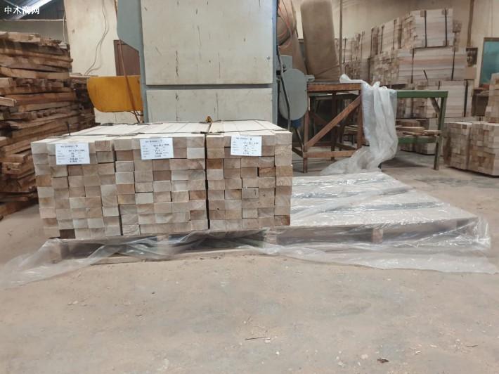 印尼轻木方木balsa wool原产地直销图片