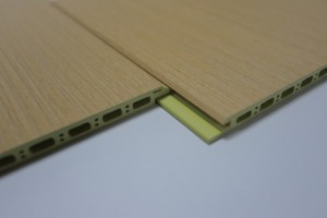 竹木纤维800大板0.9厚V缝