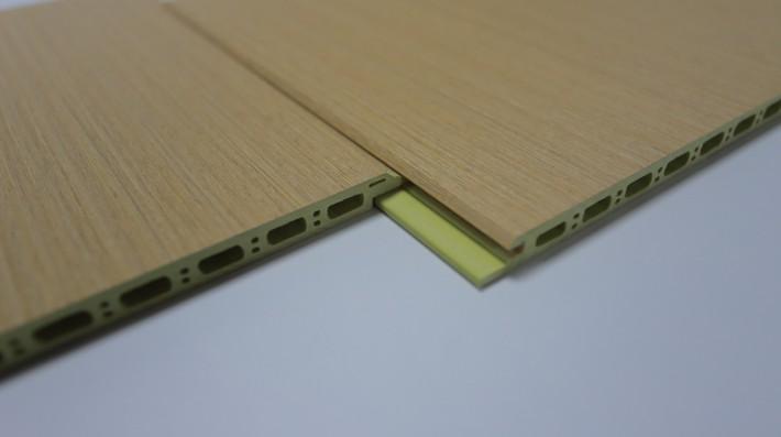 山东开杰竹木纤维吸音板大板高清图片厂家