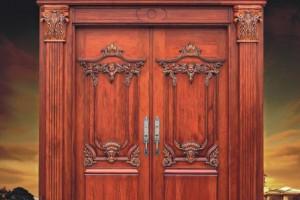 河南欧宝特木门复合实木烤漆门高清图片
