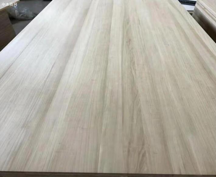 碳化杨木直拼板厂家直销价格供应商