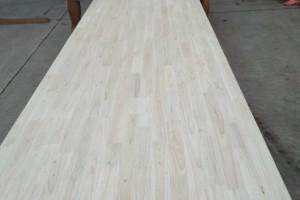 楸木指接拼板材,实木家具板材,简约楸木餐桌,餐台楸木饭桌板材类工厂直销