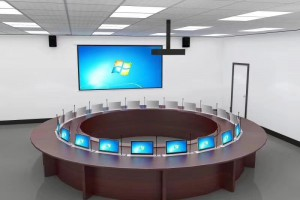 办公室兼会议室会议桌图片欣赏