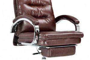 按摩座椅棕色双扶手带踏脚A939生产厂家