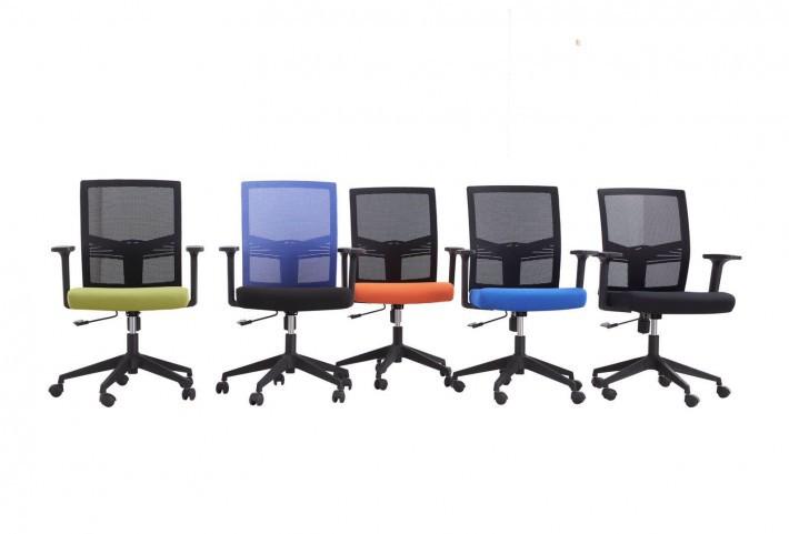 不带头的职员椅607B图片