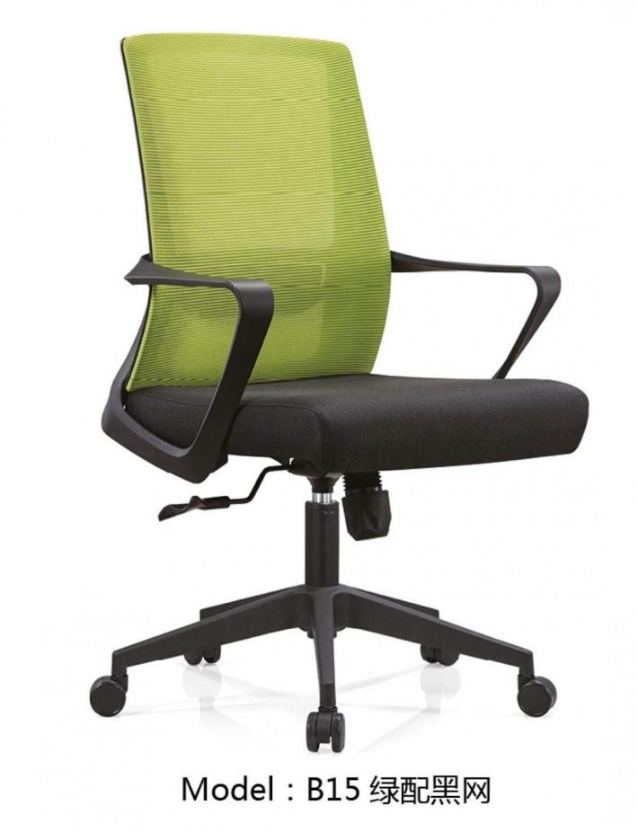 不带头的职员椅B15图片