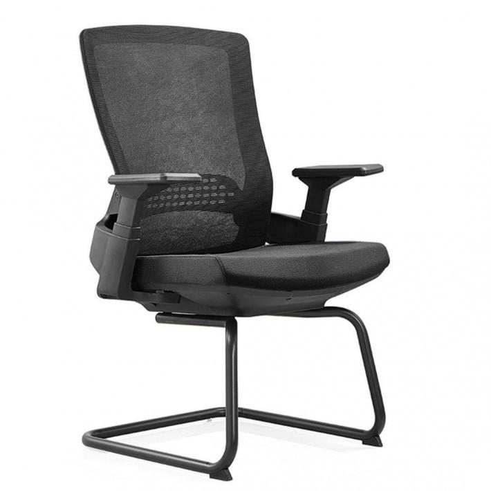 无头枕的网布办公椅职员椅子D32批发