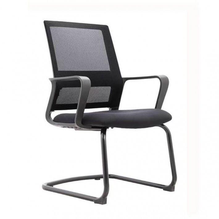 无头枕的网布职员座椅804D厂家批发
