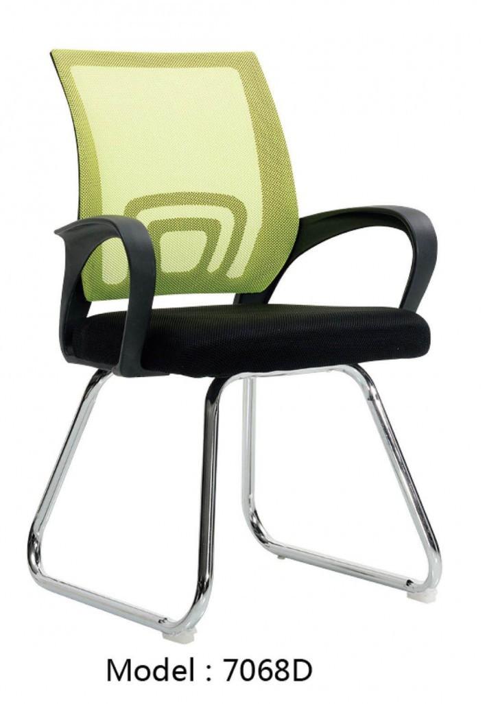 无头枕的网职员椅子7068D厂家直销