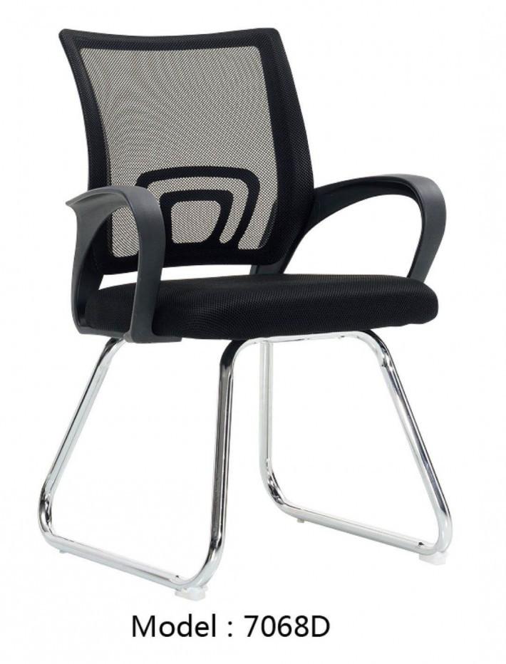 无头枕的职员椅7068D厂家
