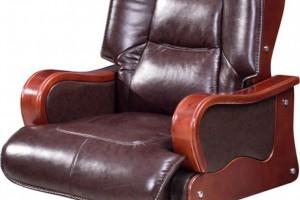 皮质坐垫靠背转动座椅A602