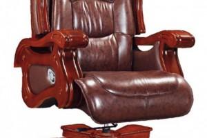 皮质转动座椅301木扶手出头