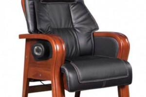 木扶手固定皮座椅635