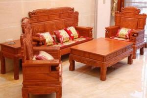 缅甸花梨木沙发六件套价格多少钱一套?