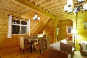 求购:俄罗斯二层别墅木屋
