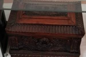 山西晋中祁县老桑木业骨灰盒生产厂家视频