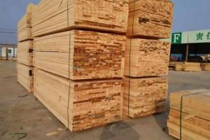 可定制各种规格辐射松板材建筑木方加工货源充足品质保障