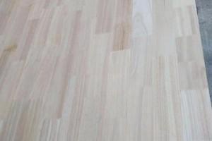 橡胶木直拼板厂家批发