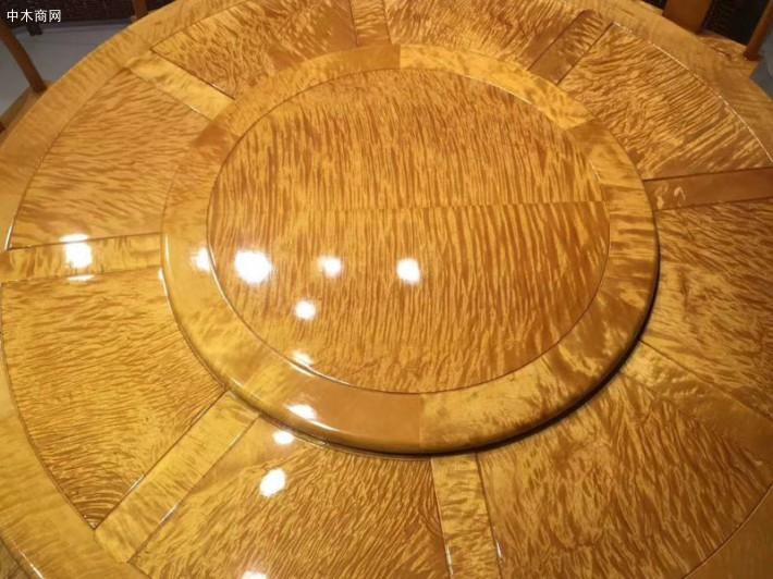 金丝楠木圆餐桌椅子厂家直销图片