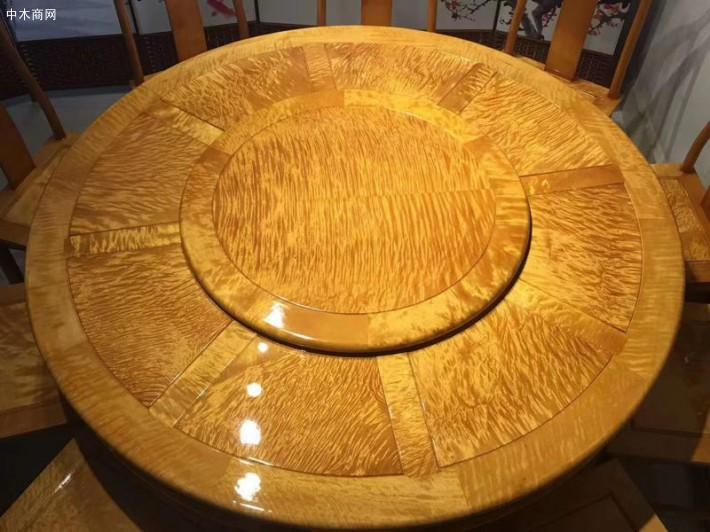 金丝楠木圆餐桌椅子厂家直销价格