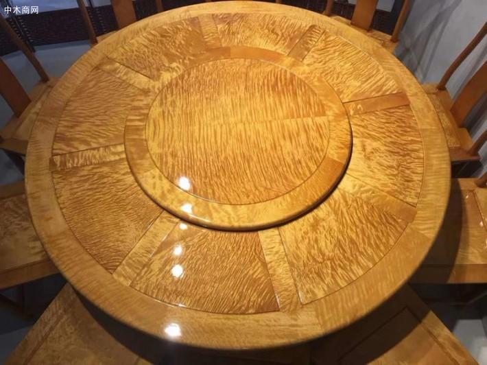 金丝楠木圆餐桌椅子厂家直销品牌