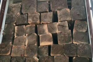 柬埔寨黑酸枝原木市场成交量一般