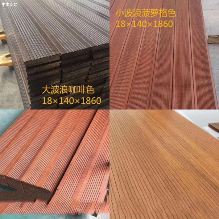 四川防腐木板材供应价格