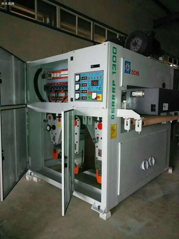 刨花板生产线中砂光机应用工艺常规配置方案厂家