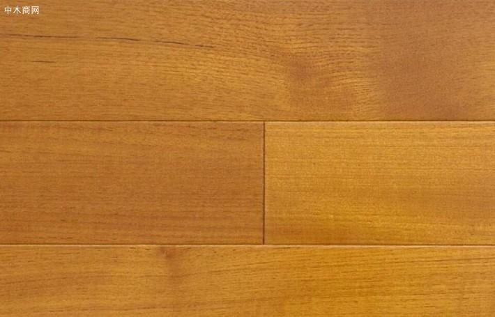 柚木实木地板价格多少钱一平方米