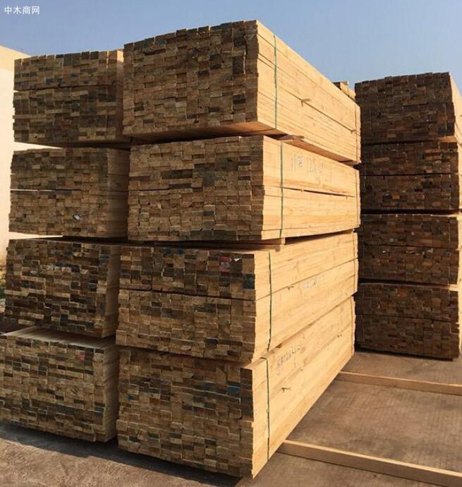 铁杉建筑方木规格尺寸表价格