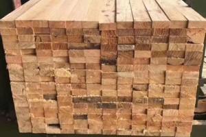 铁杉建筑方木规格尺寸表?