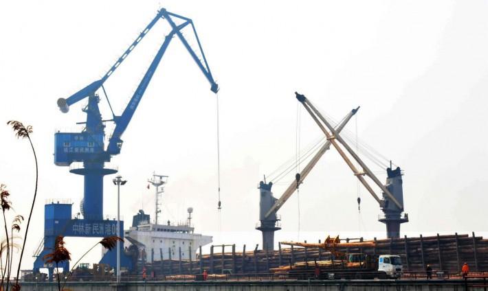 7月28日,中林新民洲港召开2020年半年工作总结会议
