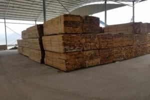 路铁木业精品铁杉板材高清图片
