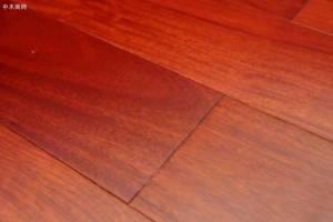 红檀香木地板是什么木材?
