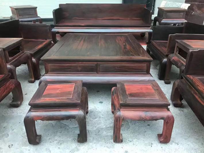 大红酸枝家具沙发价格图片品牌
