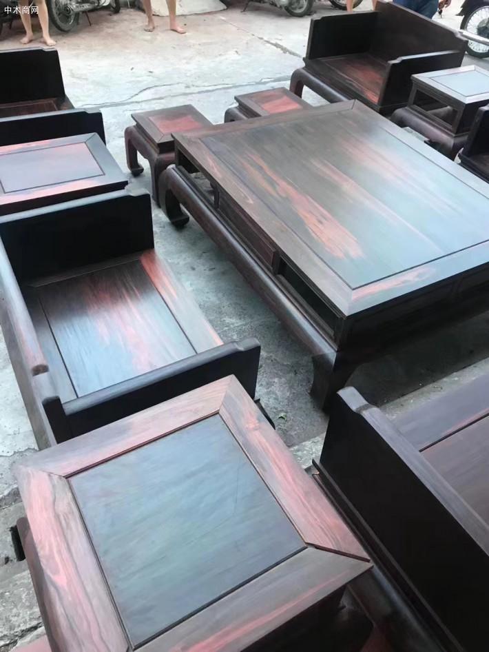 怎样保养大红酸枝家具沙发采购报价