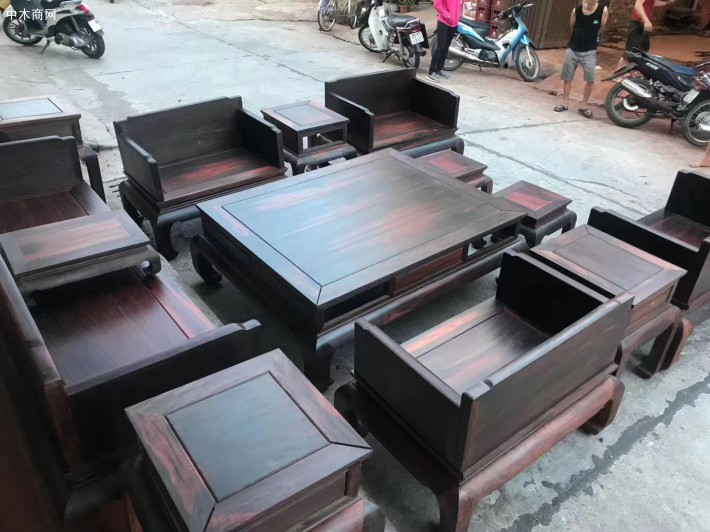 怎样保养大红酸枝家具沙发价格