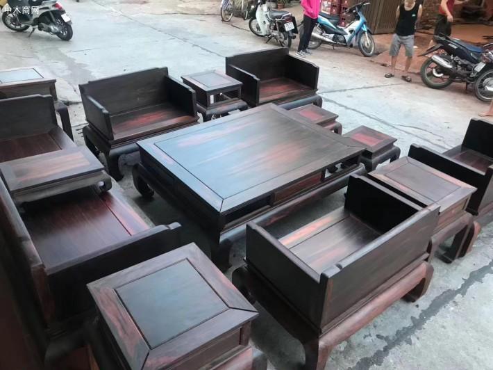 大红酸枝家具沙发价格图片厂家