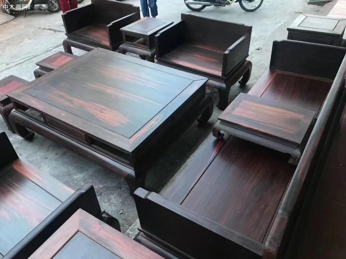 怎样保养大红酸枝家具沙发供应