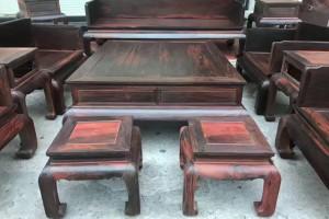 大红酸枝沙发需要多少钱?