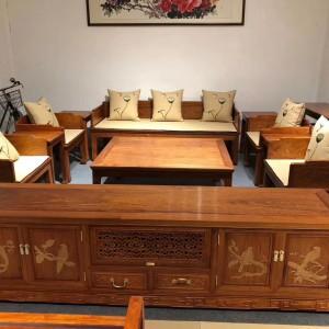 缅甸花梨木沙发六件套品牌价值