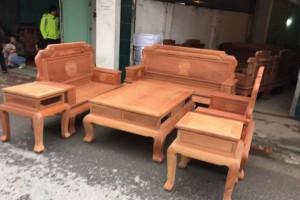 红木家具缅甸花梨木六件套万象沙发厂家直销