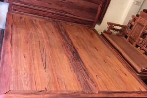 红木家具白酸枝大床带床头柜厂家批发价格