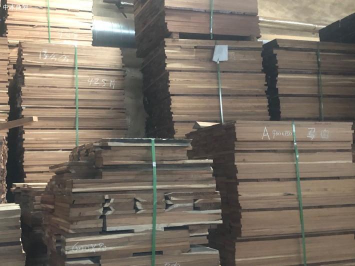 马肉豆木实木地板坯料厂家直销批发